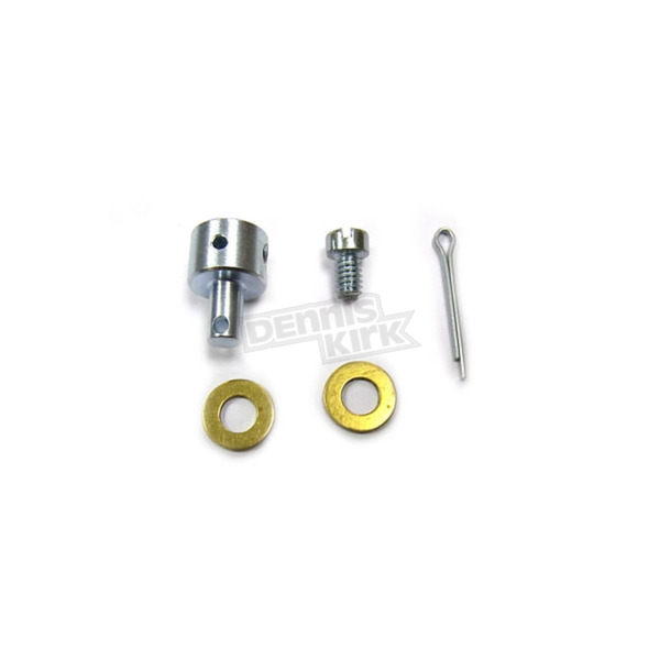 V-Twin Manufacturing Carburetor Cable Block Kit for HD EL, UL and WL models - 35-0207