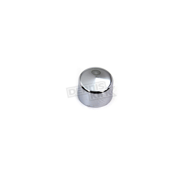 Wyatt Gatling Chrome 1/4 in. Allen Head Caps - 37-1502