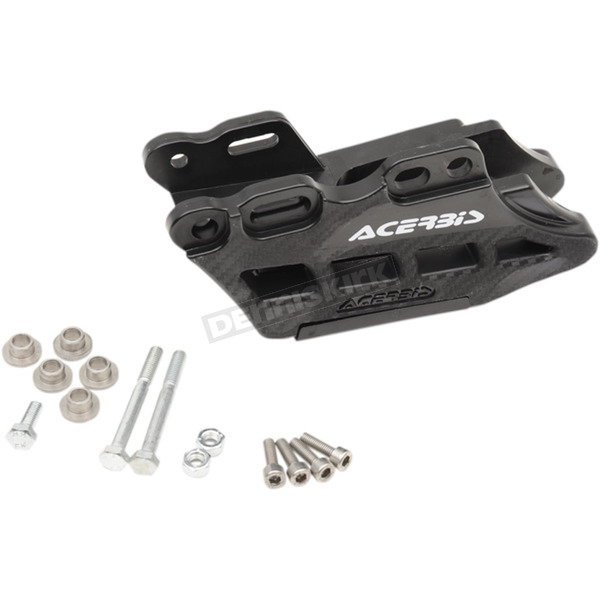 Acerbis Black 2.0 Complete 2 Piece Chain Guide - 2686620001