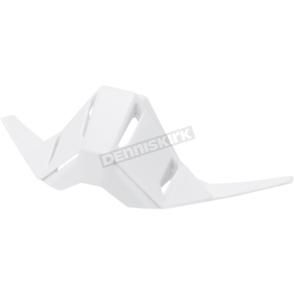 100% Replacement White Nose Guard for the Racecraft Goggles - 51032-000-01