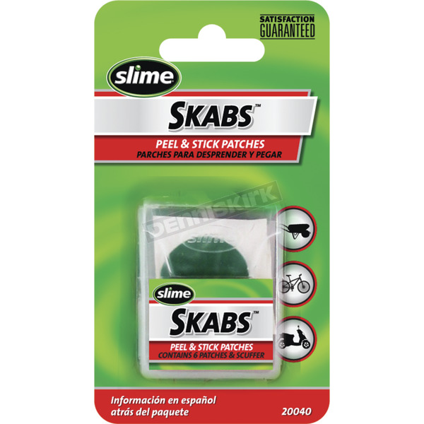 Slime Skabs Tire Patches - 20040
