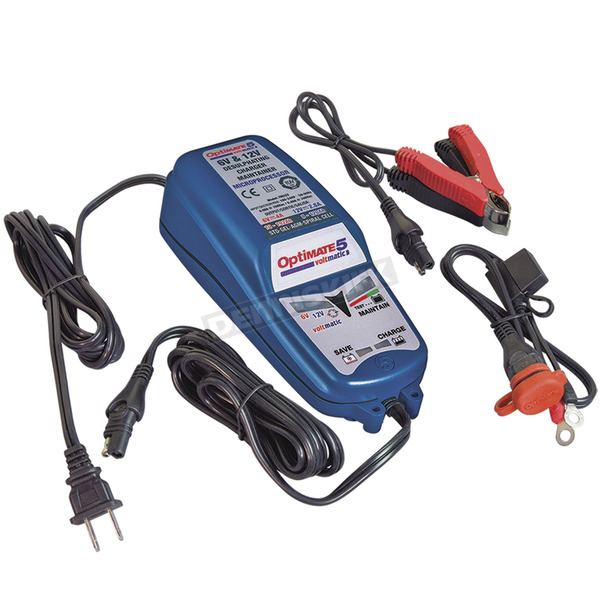 Tecmate Optimate 5 Voltmatic Battery Charger - TM-223