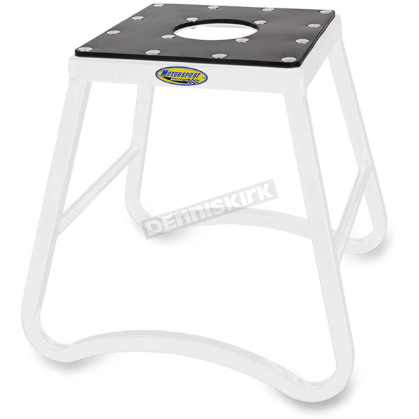 Motorsport Products White SX1 Mini Stand - 96-4108