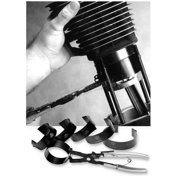 Piston Ring Compressor Set - 1236