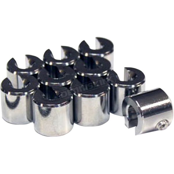 .50 oz Chromed Brass Spoke Wheel Weights - WT-SPK10CH-50