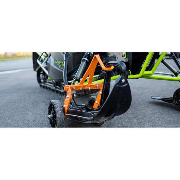 Skisaver Flex Orange Snowmobile Ski Wheel Transport Kit - 75860