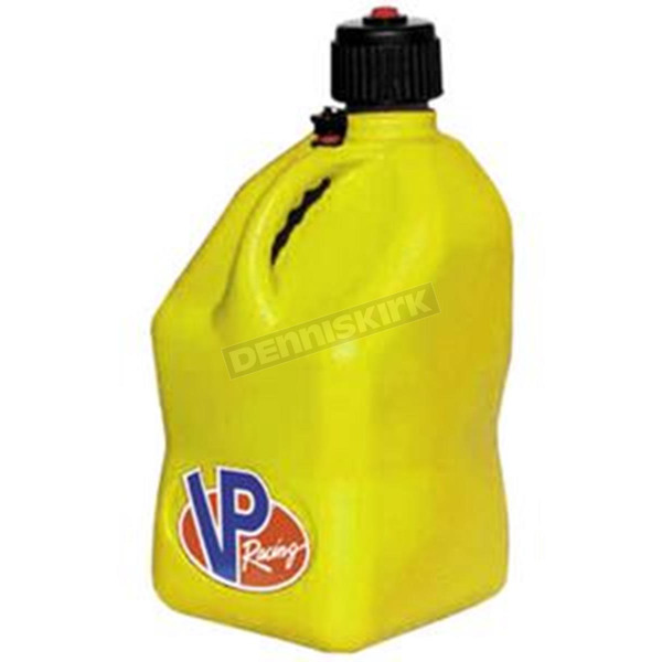 VP Racing Fuels Yellow 5 Gallon Square Gas Can - 3554