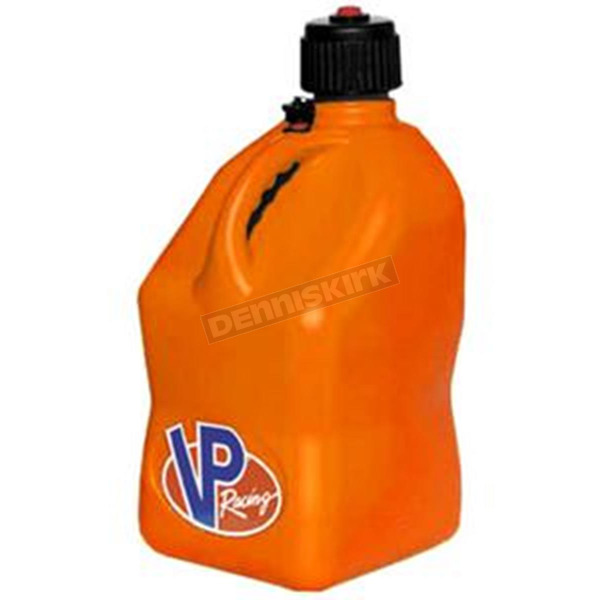 VP Racing Fuels Orange 5 Gallon Square Gas Can - 3574
