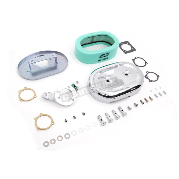 Chrome Air Cleaner Assembly - 34-1606