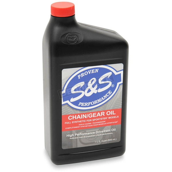 S&S Cycle High Performance Full Synthetic Sportster Chain/Gear Oil - 3604-0008