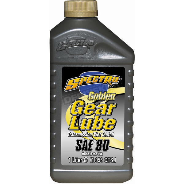 Golden Semi-Synthetic Motorcycle Gear Lubricant - L.GSCGL80