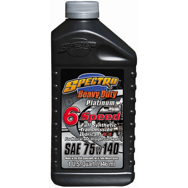 Spectro Heavy Duty Platinum Full Synthetic 6-Speed Transmission Lubricant - R.HDPG6