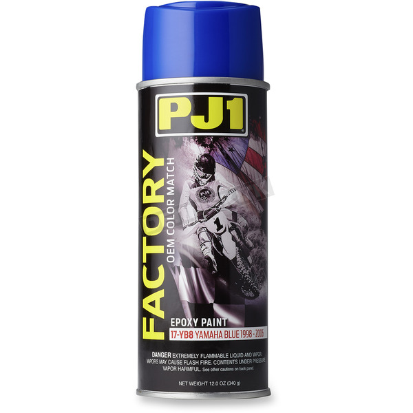PJ1 Factory Yamaha Blue Epoxy Paint - 17-YB8