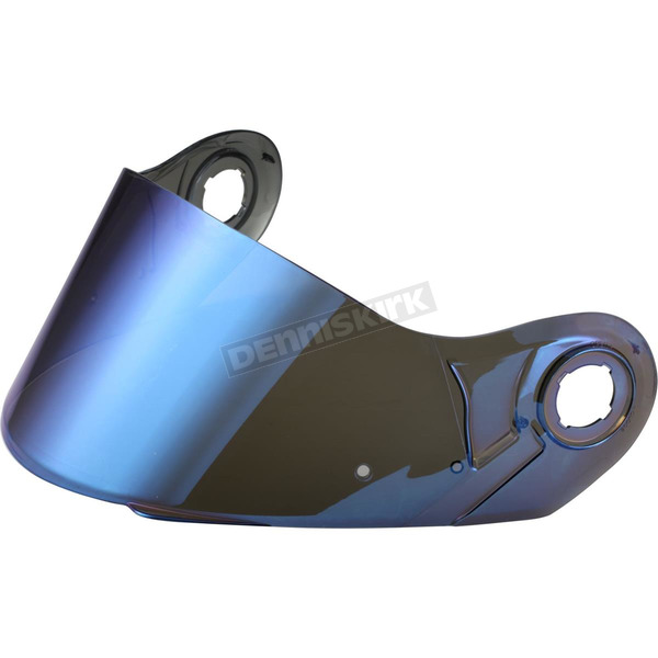 LS2 Blue Mirror Shield for FF386/394 and Strobe Helmets  - 02-054