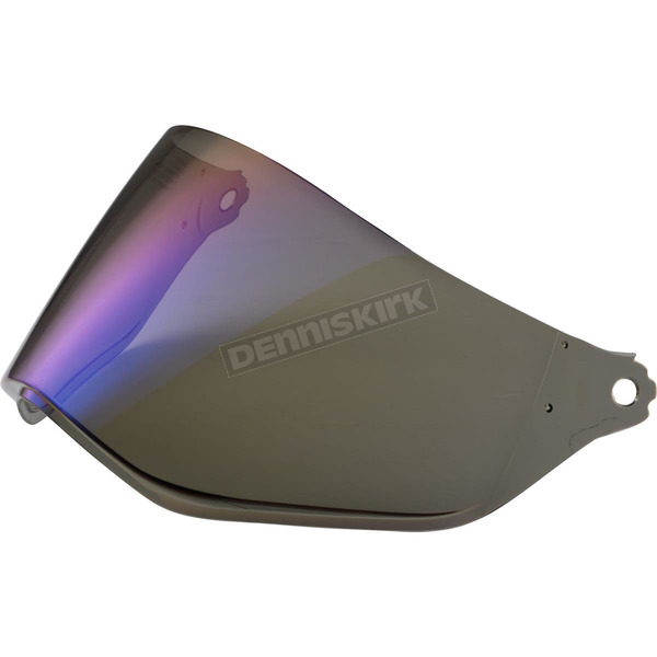 LS2 Blue Mirror Shield for MX453 Helmets  - 02-084