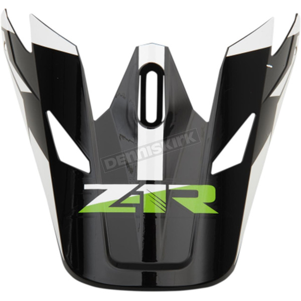 Z1R Green Rise Visor Kit - 0132-1082