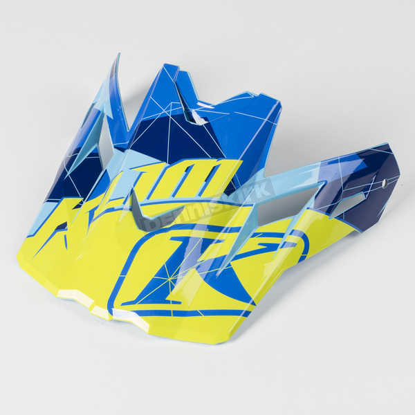Klim Blue Camo Visor for F3 Helmet - 3866-000-000-002