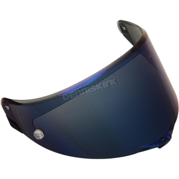 Replacement Iridium Blue Shield for Corsa/Pista-17 Helmet - KV0B9N1002