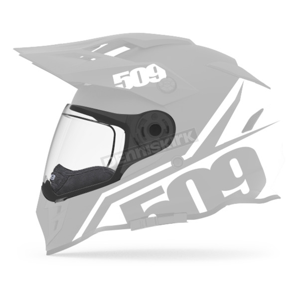 509 Clear Dual Electric Replacement Shield for Delta R3 Helmet - F01001300-000-999