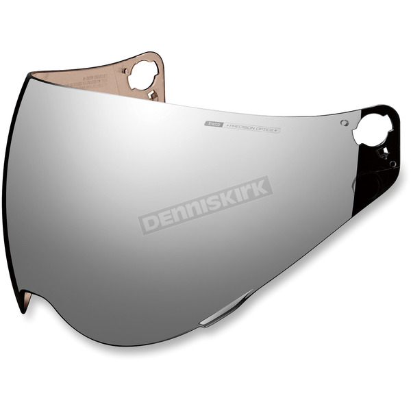 RST Silver Precision Optics Pinlock Ready Shield for Variant Helmets - 0130-0705