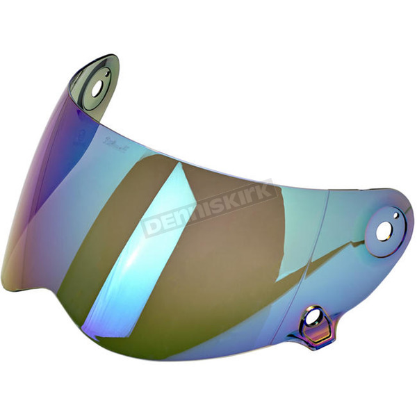 Biltwell Rainbow Face Shield for Lane Splitter Helmet - FS-RNB-LS-SD