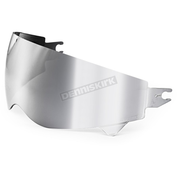 Scorpion Silver Mirror Replacement Sun Visor for Covert Helmets - 52-545-69