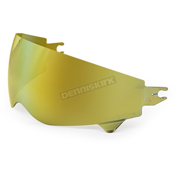 Scorpion Gold Mirror Replacement Sun Visor for Covert Helmets - 52-545-71