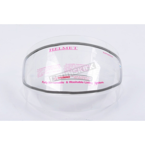 CKX Clear Double Len Shield for VG-1000 Helmets - 112063