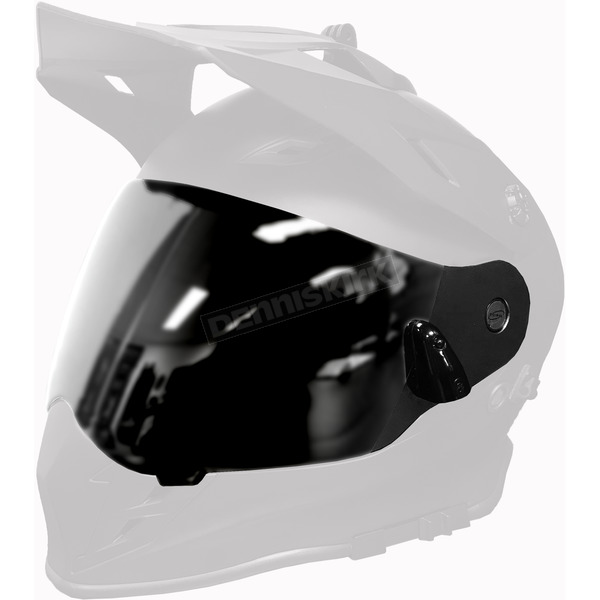 509 Chrome Mirror/Yellow Dual Electric Replacement Shield 2.0 for Delta R3 Helmet - F01001300-000-502