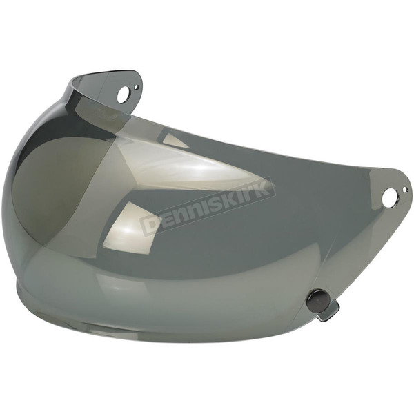 Biltwell Gold Mirror Bubble Shield - SB-MIR-GS-SD