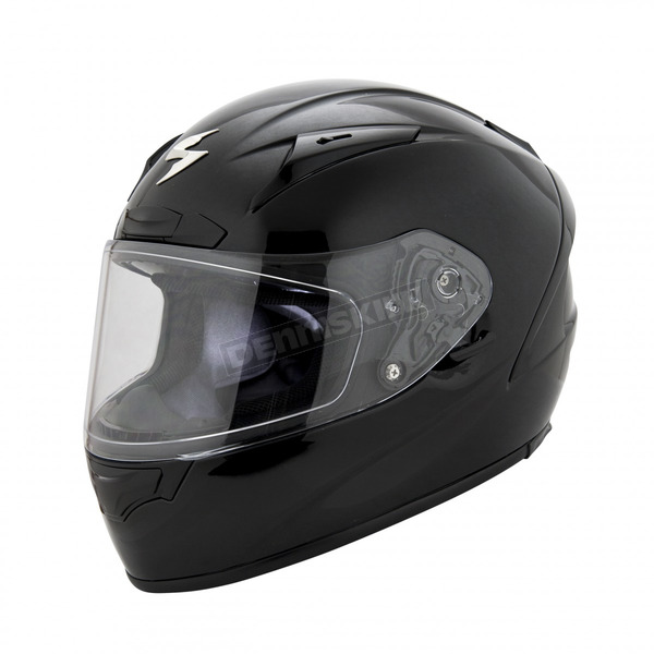 Scorpion Black EXO-R2000 Helmet - 200-0036