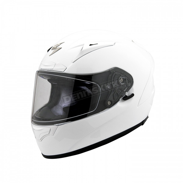 Scorpion White EXO-R2000 Helmet - 200-0054