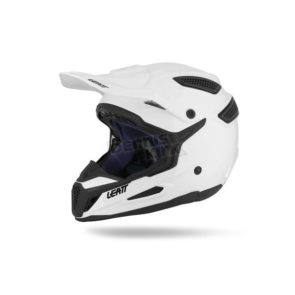 Leatt White GPX 5.5 Composite Helmet - 1015500082