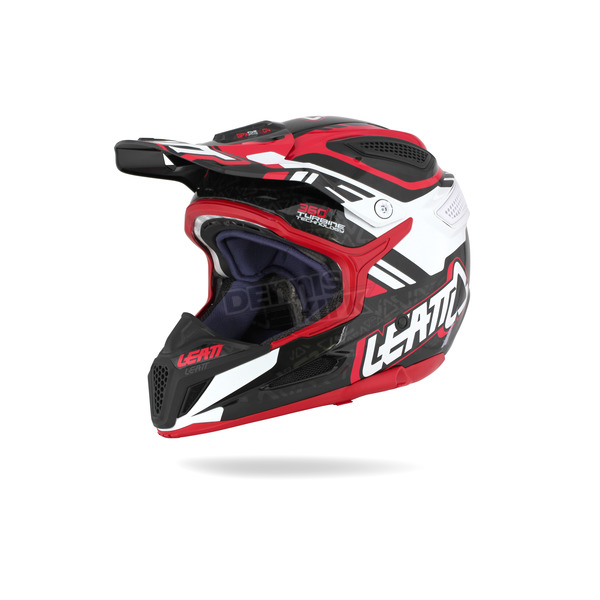 Leatt 2015 Red/Black/White GPX 5.5 Composite V.04 Helmet - 1015500132