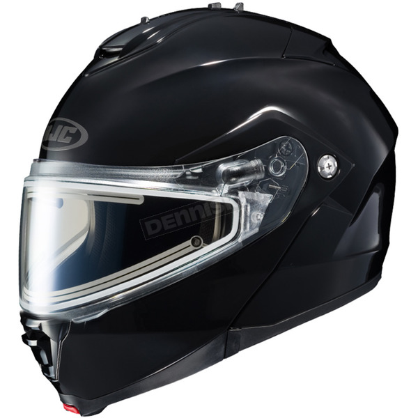 HJC Black IS-Max 2 Snowmobile Helmet w/Electric Shield - 58-23509