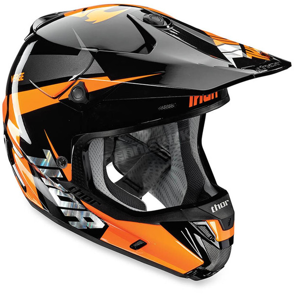 Thor Fluorescent Orange Verge Rebound Helmet - 0110-4293