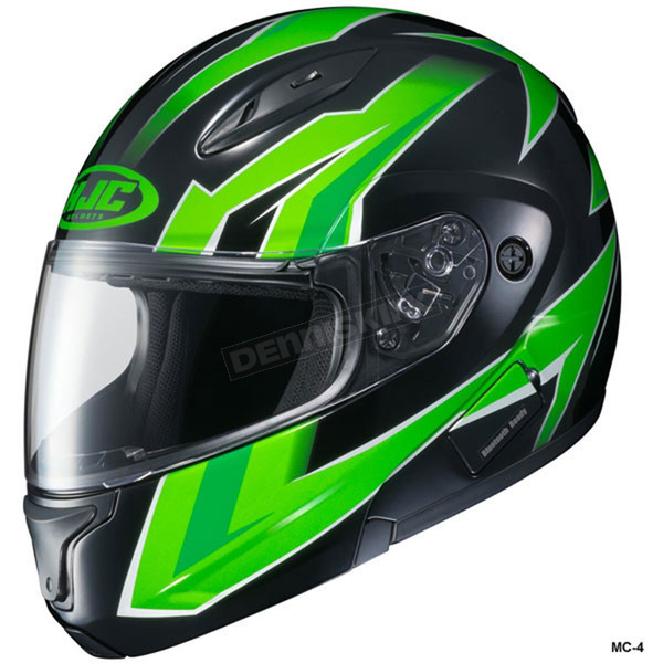 HJC Green/Black CL-Max 2 Ridge Helmet - 989-949