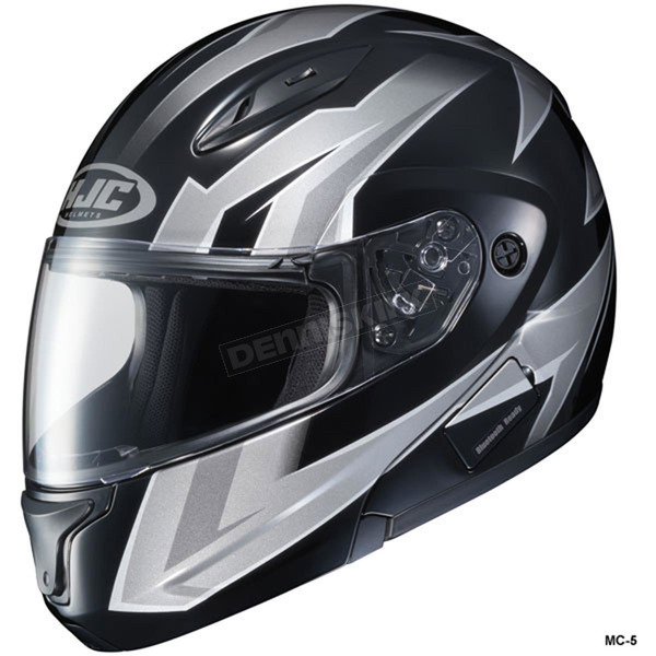 HJC Black/Gray/White CL-Max 2 Ridge Helmet - 59-14556