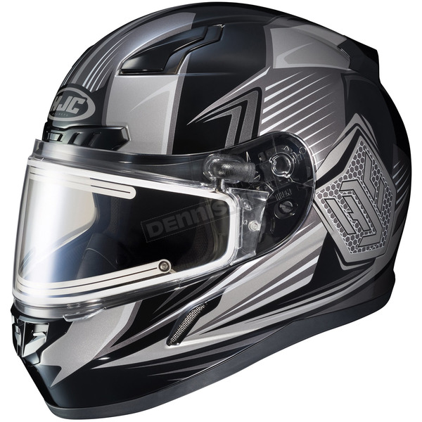 HJC Black/Gray CL-17SN MC-5 Striker Helmet w/Frameless Electric Shield - 57-29378