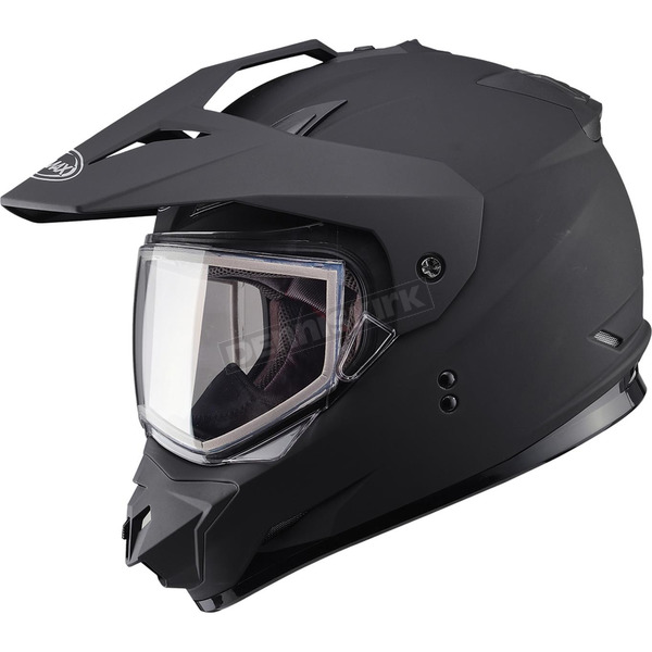 GMax Matte Black GM11S Snow Sport Snowmobile Helmet - 72-71212X