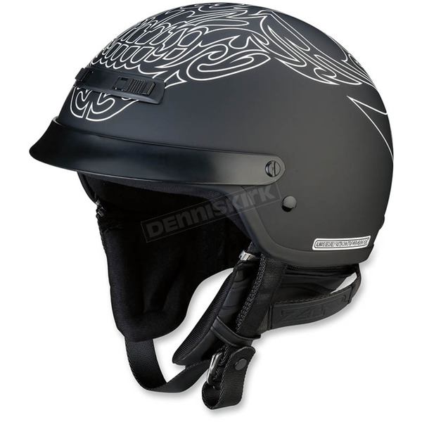 Z1R Black/White Nomad Tribal Helmet - 0103-1165