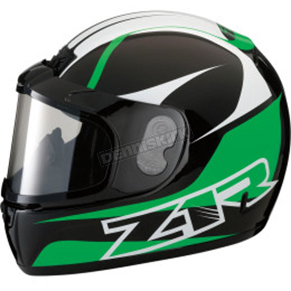 Z1R Green Phantom Peak Helmet - 0121-0809