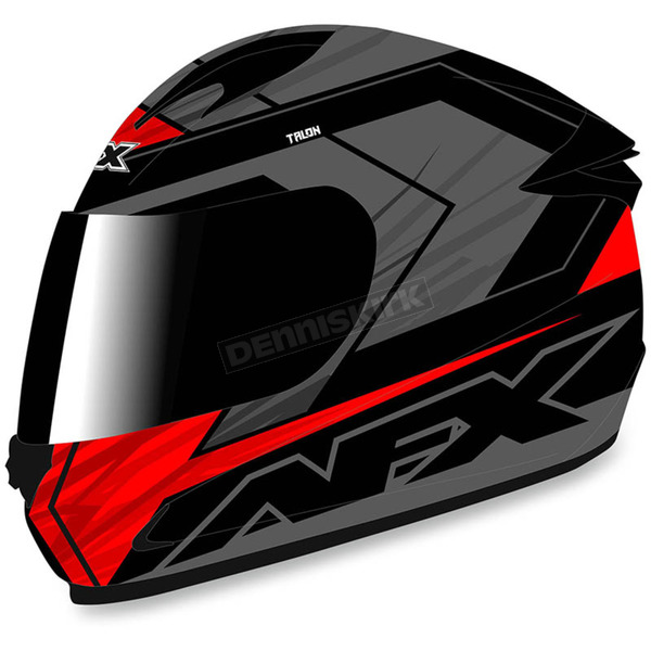 AFX Black/Red FX-24 Talon Helmet - 0101-8656
