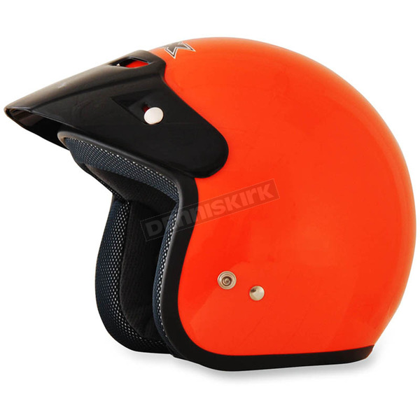 AFX Safety Orange FX-75 Helmet - 0104-1836