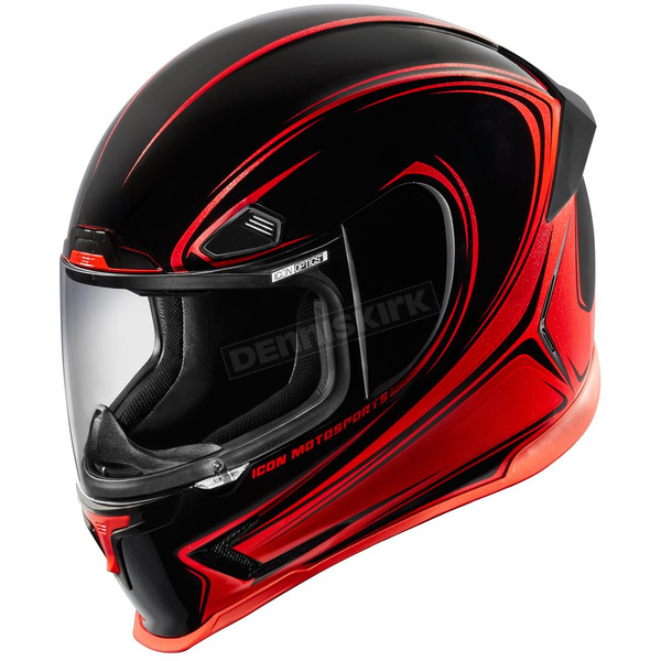 Icon Red Airframe Pro Halo Helmet - 0101-8742