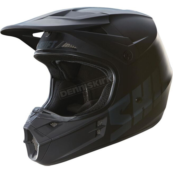 Shift Matte Black Assault Race Helmet - 16108-255-M