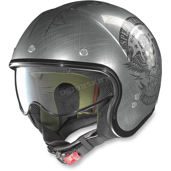Nolan Scratched Chrome N21 Speed Junkie Helmet - N2N5273560322