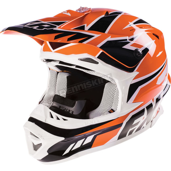 FXR Racing Orange Blade Race Snell Helmet - 15404.30019