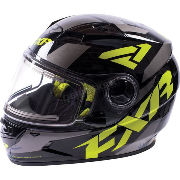 Youth Charcoal/Hi-Vis Nitro Helmet - 16414.70110