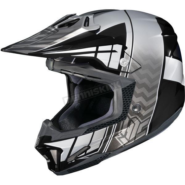 HJC Black/Gray/Silver CL-X7 Cross-Up MC-5 Helmet - 748-952